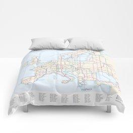 International E-Road Network Comforters