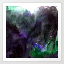 Vellum Bliss No. 7-2G by Kathy Morton Stanion Art Print