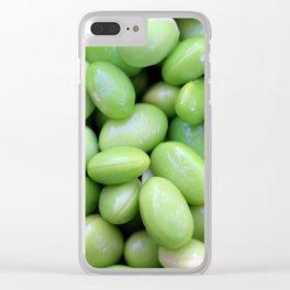 Edamames Clear iPhone Case