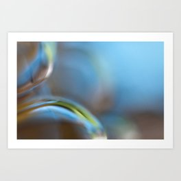 Glass Abstract  - JUSTART © Art Print