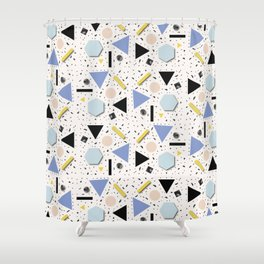 Shapes Everywhere Shower Curtain