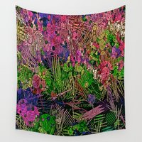 paradise Wall Tapestries featuring :: Paradise :: by :: GaleStorm Artworks ::