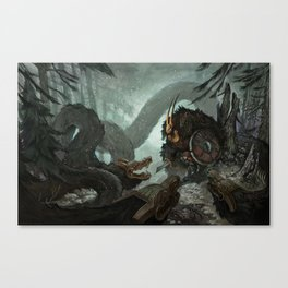 Cornered Canvas Print