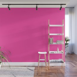 From The Crayon Box – Cerise - Bright Pink Purple Solid Color Wall Mural