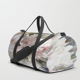 Abstract apple tree Duffle Bag