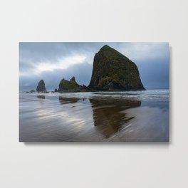 Haystack Rock | Oregon | Travel Photography | Landscape Photography |  Metal Print