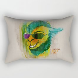 Be happy! Rectangular Pillow