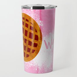WAITRESS Minimal Musical design Travel Mug