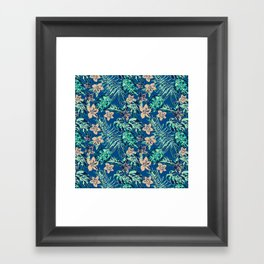 Jungle B Framed Art Print