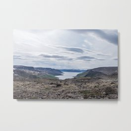 Icelandic Moonscapes - Four Metal Print