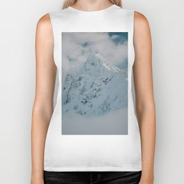 White peak - Landscape and Nature Photography Biker Tank