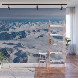 Aerial Glacier Four - Alaska Wall Mural