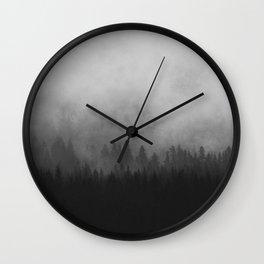 Mist II Wall Clock