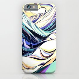 Creases and Curves iPhone Case