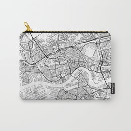 Rotterdam Map White Carry-All Pouch
