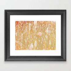 i am grass Framed Art Print