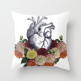 Heart nest Throw Pillow