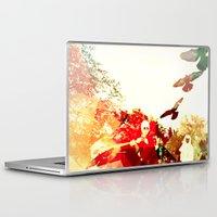 mandie manzano Laptop & iPad Skins featuring OPPROBRIUM by Chrisb Marquez