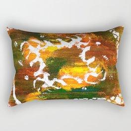 Aztec Culture Rectangular Pillow