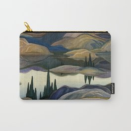 Franklin Carmichael - Mirror Lake - Canada Carry-All Pouch