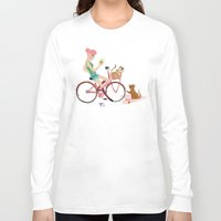 letters Long Sleeve T-shirts featuring Love Letters by KattyB