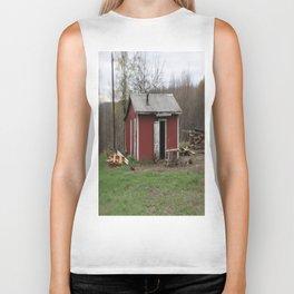 Little house in West Virginia Biker Tank