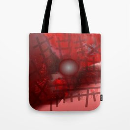 Rope and planet Tote Bag