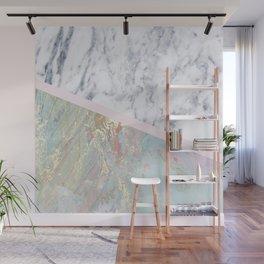 Whimsical marble fantasy Wall Mural