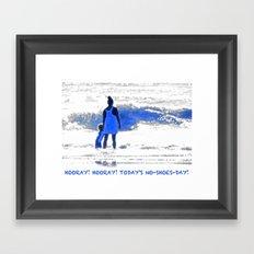Hooray! Hooray! Framed Art Print