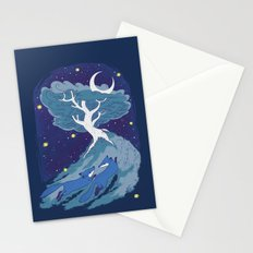 Summer Foxes Stationery Cards