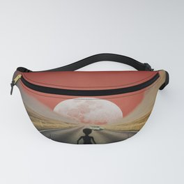 Alien on The Road to Nowhere Fanny Pack