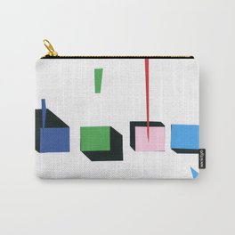 Squares in line Carry-All Pouch
