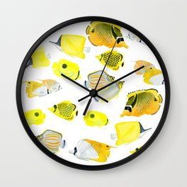Butterflyfish Wall Clock