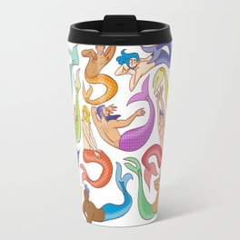 Mermen Travel Mug