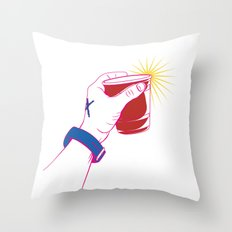 The Party Cup - v2 Throw Pillow