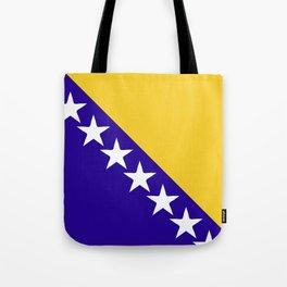 Bosnia and Herzegovina flag emblem Tote Bag