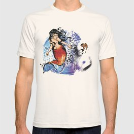 the Mermaid & the Fish T-shirt