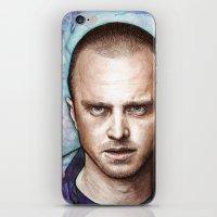 jesse pinkman iPhone & iPod Skins featuring Jesse Pinkman by Olechka
