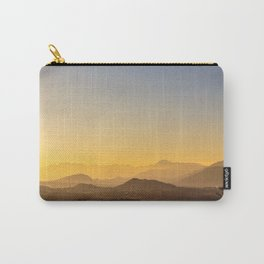 colorful autumn sunset in the italian countryside Carry-All Pouch