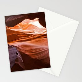 The Fiery Cavern Stationery Cards