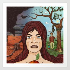 The Garden of Eden Art Print