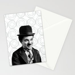 Charlie Chaplin Old Hollywood Stationery Cards