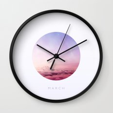 March inspired Wall Clock