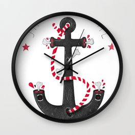 SALVAJEANIMAL headless VII Wall Clock
