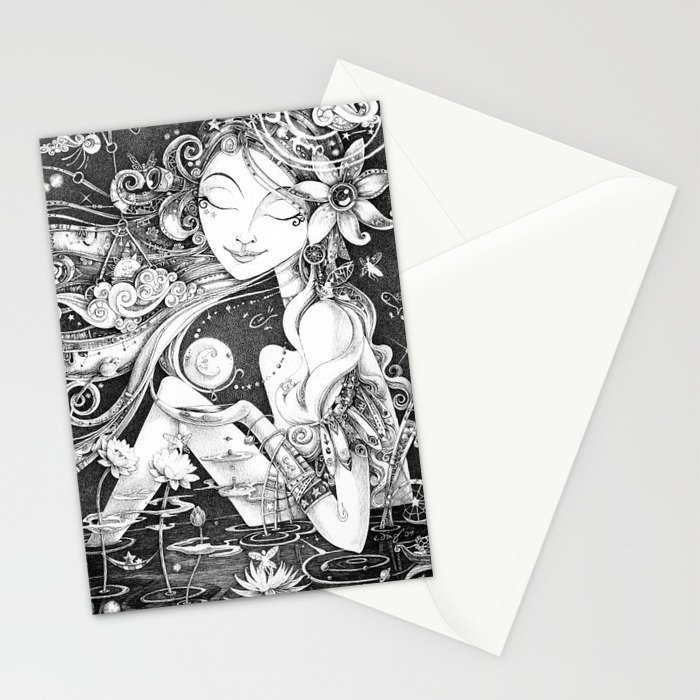 Ma Bella Luna Stationery Cards