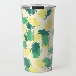 Beetles Design Travel Mug