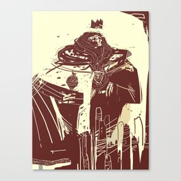 Ghost of the King Canvas Print