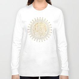 Mandala Justyoga Long Sleeve T-shirt