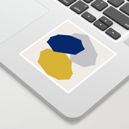 Abstraction_SHAPES_003 Sticker