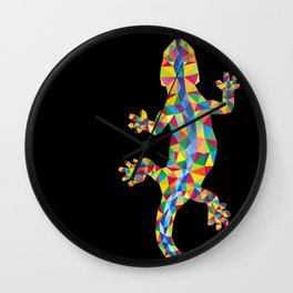 Vivid Barcelona City Lizard Wall Clock